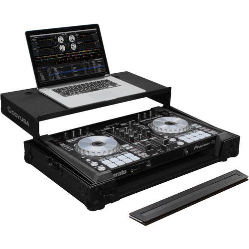 Odyssey Innovative Designs Black Label Glide Style Series Case for Pioneer DDJ-SR2 DJ Controller
