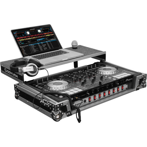 Odyssey Innovative Designs Flight Zone Glide-Style Case for Pioneer DDJ-SX/SX2 DJ Controller