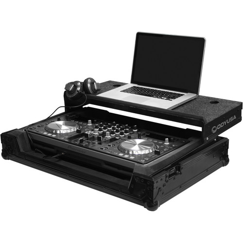 Odyssey Innovative Designs FZGSPIXDJR1BL Black Label Pioneer XDJ-R1 Controller Glide Style Case