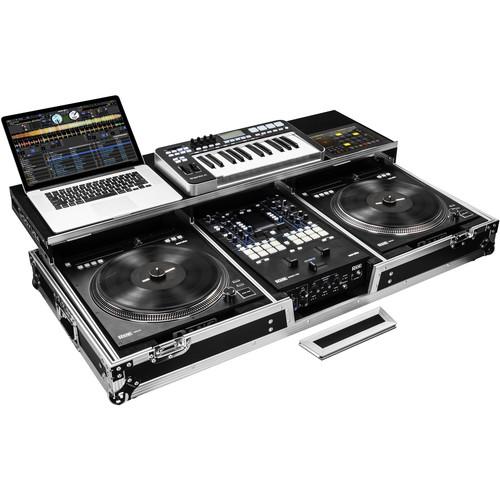 Odyssey Innovative Designs FZGSPRA1272W DJ Coffin Case for Rane Seventy-Two & Rain Twelve Mixers