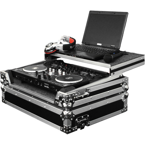 Odyssey Innovative Designs Flight Zone Glide Style Case for Reloop Terminal 4 DJ Controller