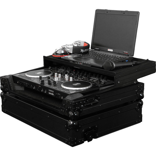Odyssey Innovative Designs Black Label Flight Zone Reloop Terminal 4 DJ Controller Glide Style Case