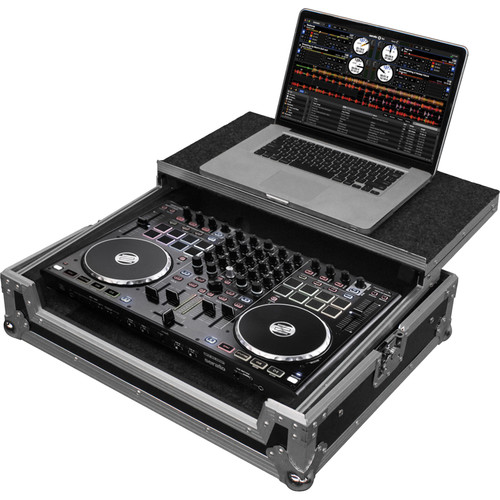 Odyssey Innovative Designs FZGSTERMIX8 Flight Zone Glide Style Case for Reloop Terminal Mix 8 DJ Controller