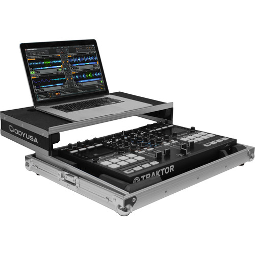 Odyssey Innovative Designs Flight Zone Low-Profile Glide Style Case for TRAKTOR KONTROL S4/S5 Controller