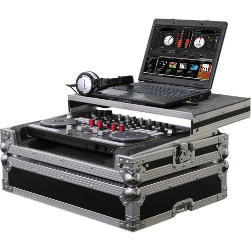 Odyssey Innovative Designs Flight Zone Glide Style Case for Vestax VCI400 DJ Controller