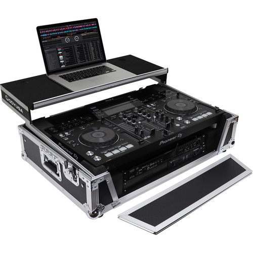 Odyssey Innovative Designs Flight Zone Glide Style Series Case for Pioneer XDJ-RX / XDJ-RX2 DJ Controller