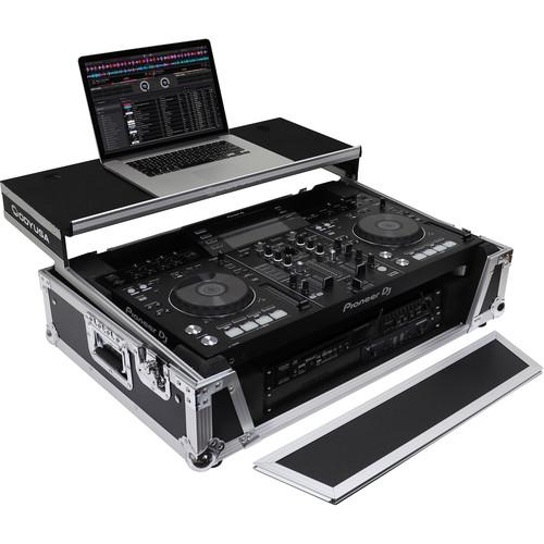 Odyssey Innovative Designs Flight Zone Glide Style Series Case for Pioneer XDJ-RX / XDJ-RX2 DJ Controller