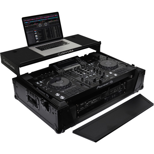 Odyssey Innovative Designs Black Label Glide Style Series Case for Pioneer XDJ-RX / XDJ-RX2 DJ Controller
