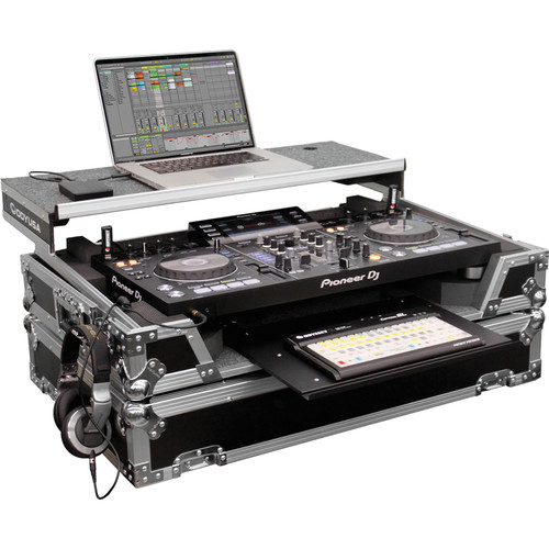 Odyssey Innovative Designs Flight Zone Glide Style Case for Pioneer XDJ-RX DJ Controller