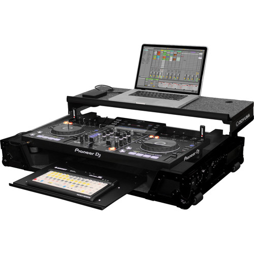 Odyssey Innovative Designs Black Label Glide Style Case for Pioneer XDJ-RX DJ Controller
