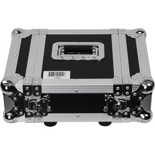 Odyssey Innovative Designs Flight Zone Series Half-Rack Flight Case (2 RU)