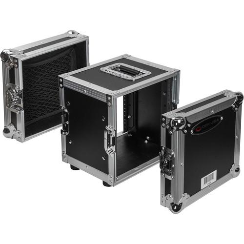 Odyssey Innovative Designs Flight Zone Series Half-Rack Flight Case (6 RU)