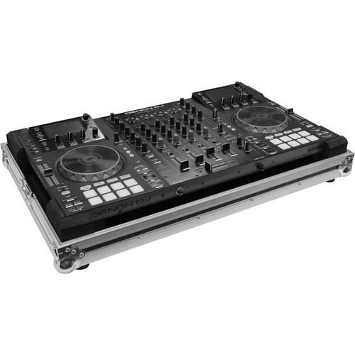 Odyssey Innovative Designs Flight Zone Low Profile Series Denon MCX8000 DJ Controller Case