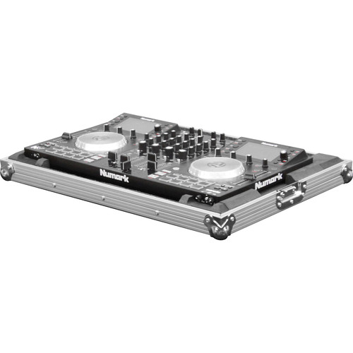 Odyssey Innovative Designs Flight Zone Case with Shallow Bottom Reverse Lid Design for Numark NV Serato DJ Controller