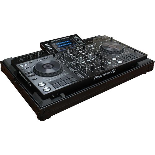 Odyssey Innovative Designs Black Label Low Profile Series DJ Controller Case for Pioneer XDJ-RX or XDJ-RX2 (All Black)