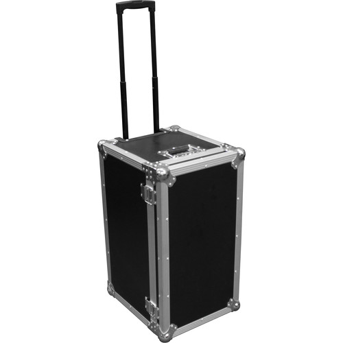 Odyssey Innovative Designs Flight Zone Universal Photo Booth Printer Case with Pullout Handle and Wheels