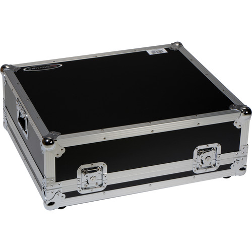 Odyssey Innovative Designs Flight Zone Case with Wheels for Allen & Heath Qu-24 Mixer Console
