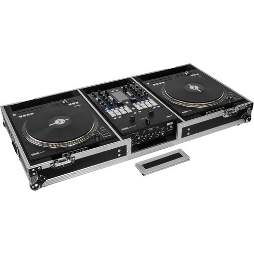 Odyssey Innovative Designs Flight Zone DJ Battle Coffin for Rane Seventy-Two Mixer and Two Rane Twelve Controllers