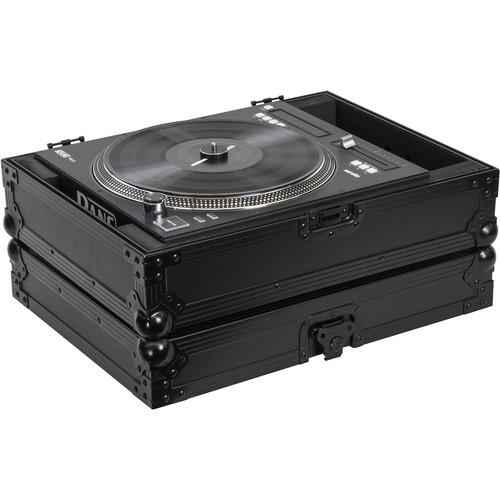 Odyssey Innovative Designs Black Label Rane Twelve Motorized Turntable DJ Battle Controller Case (All Black)