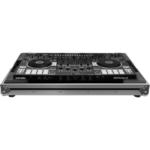 Odyssey Innovative Designs Flight Zone Low-Profile Case for Roland DJ-808 DJ Controller