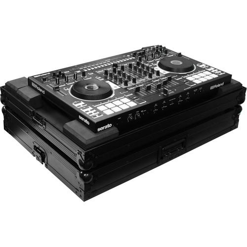 Odyssey Innovative Designs Black Label Low-Profile Case for Roland DJ-808 DJ Controller