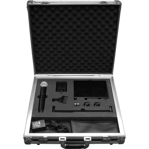 Odyssey Innovative Designs FZSHQLXD1 Flight Zone Case for Shure QLXD Wireless Mic System