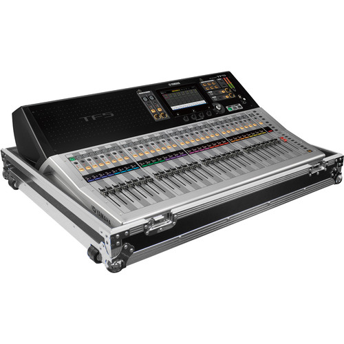 Odyssey Innovative Designs Case with Wheels for Yamaha TF5 Mixing Console