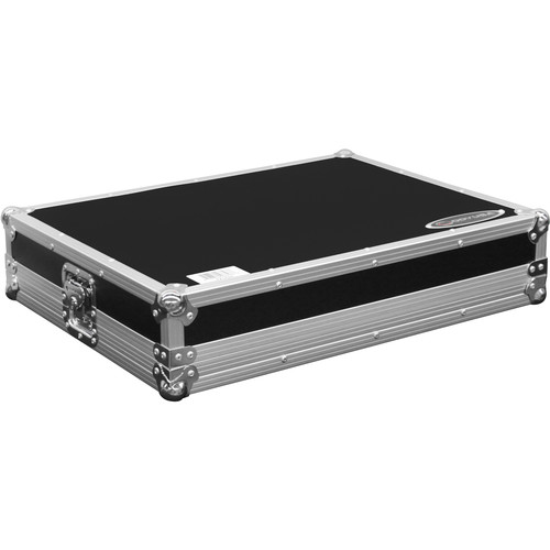 Odyssey Innovative Designs Flight Zone Low Profile Case with Shallow Bottom Reverse Lid for Traktor Kontrol S8 DJ Controller