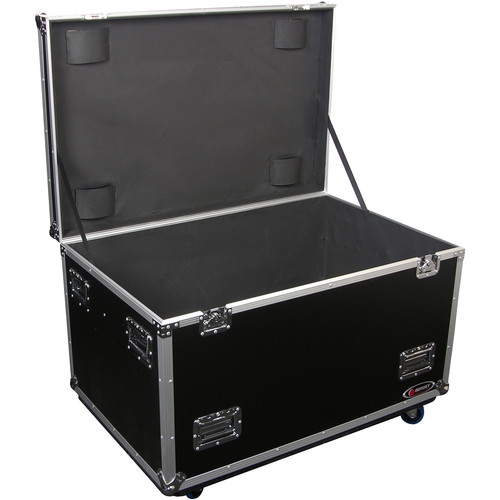 Odyssey Innovative Designs FZUT2W Flight Zone Truck Pack Touring Case (Black,Empty)