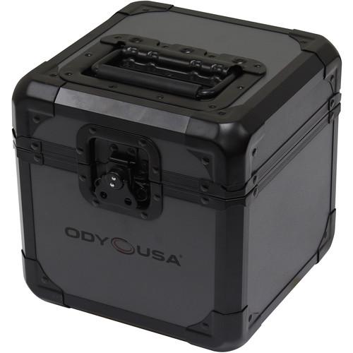 "Odyssey Innovative Designs Black Krom On Gray Series 7""-Vinyl / Utility Case (60 Records)"