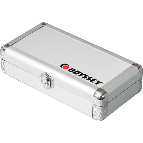 Odyssey Innovative Designs Krom Pro2 Cartridge Case - For Four Turntable Cartridges (Silver)