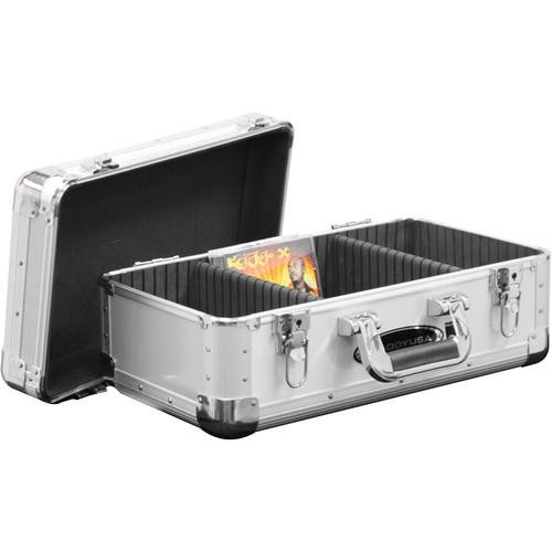 Odyssey Innovative Designs KCD200SIL Silver KROM 200 CD Case