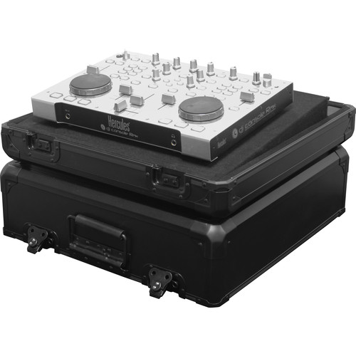 Odyssey Innovative Designs KDJC1BL Black KROM DJ Controller Carrying Case for Extra Small Size Controllers