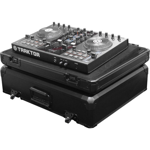 Odyssey Innovative Designs KDJC2BL Black KROM DJ Controller Carrying Case for Small Size Controllers