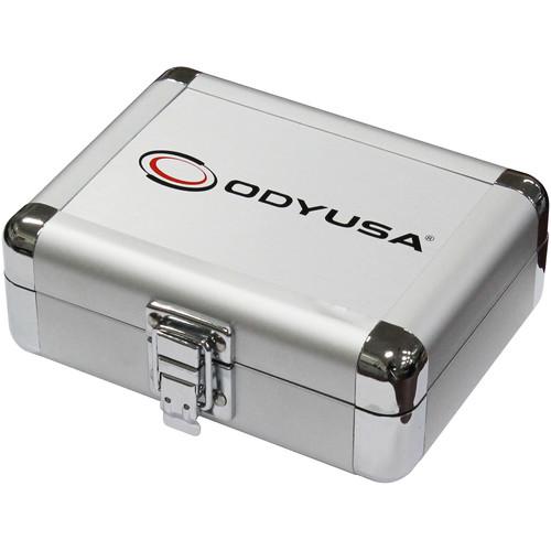 "Odyssey Innovative Designs Krom Series 5 x 1.5 x 3.1"" Compact Utility Accessory Case (Silver)"