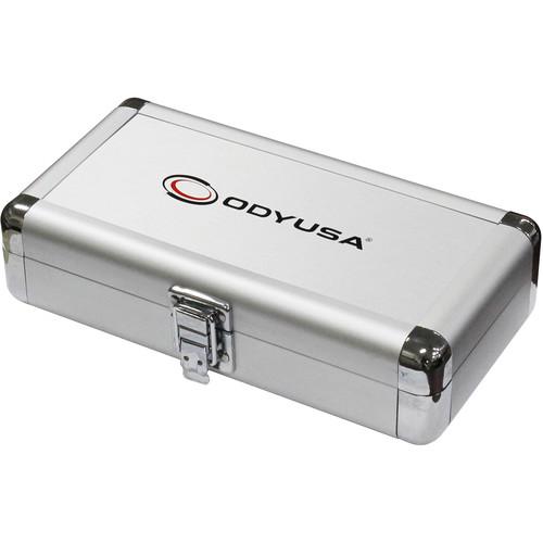 "Odyssey Innovative Designs Krom Series 7.75 x 1.5 x 3.1"" Compact Utility Accessory Case (Silver)"