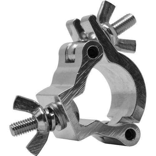 Odyssey Innovative Designs Small Aluminum Mini Clamp (Polished Aluminum)