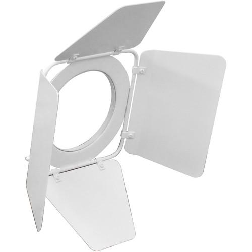 Odyssey Innovative Designs 4-Way Barndoors for PAR 30 Aluminum Light Fixture (White)