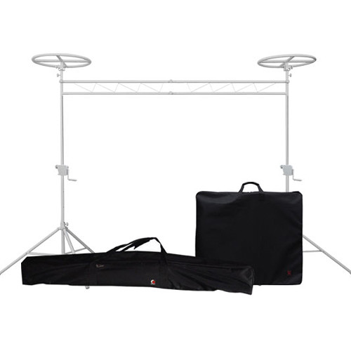 Odyssey Innovative Designs Halo Mobile Pack Luxe Pro Crank-Up Lighting Truss System (White)