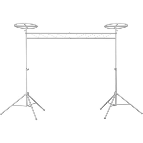 Odyssey Innovative Designs Mobile Lighting Truss System with Fixed Halos (White)
