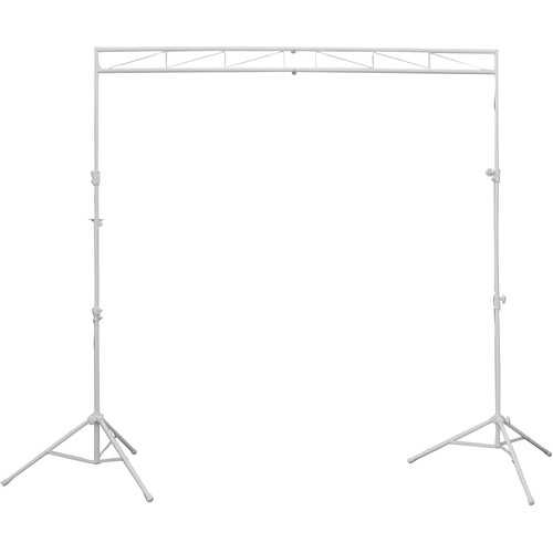 Odyssey Innovative Designs MTS-8 Compact Lighting Mobile Truss System (Luxe White Series)