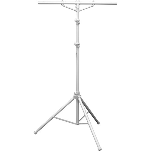 Odyssey Innovative Designs Luxe Series White Tripod Lighting Stand (12')