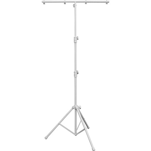 Odyssey Innovative Designs Luxe Series White Tripod Lighting Stand (9')