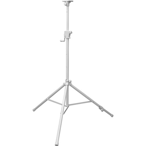 Odyssey Innovative Designs LTS1APRO Luxe Series Articulating Tripod Crank-Up Stand (8', White)