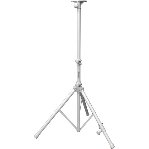 Odyssey Innovative Designs LTS1A Luxe Series Articulating Tripod Stand (6', White)