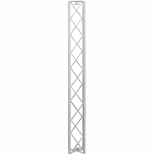 "Odyssey Innovative Designs Nexus 6x6"" Square DJ Truss Section (White, 53"")"