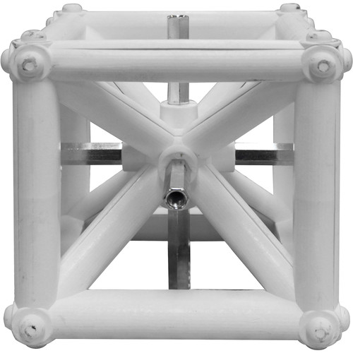 "Odyssey Innovative Designs Nexus DJ Truss Cube (White, 6 x 6 x 6"")"
