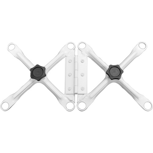 "Odyssey Innovative Designs Nexus DJ Truss Hinge (White, 6 x 6"")"