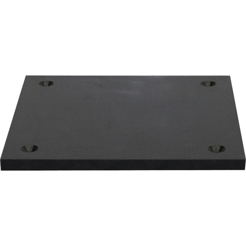 "Odyssey Innovative Designs Nexus Base Plate for DJ Truss (Black, 8 x 8"")"