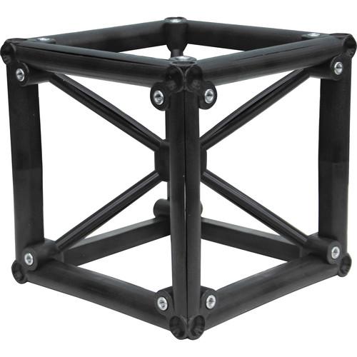 "Odyssey Innovative Designs Nexus DJ Truss Square Cube Connector (Black, 8x8x8"")"